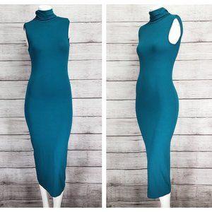 ASOS 4 Midi Stretch Bodycon Sleeveless Dress